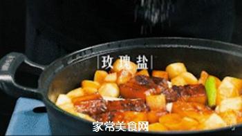 苹果烧肉的做法步骤:12