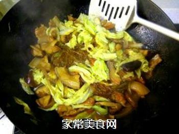 白菜五花肉炖粉丝的做法步骤:12