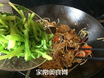 五花肉麻辣香锅的做法步骤:14