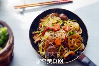 五花肉麻辣香锅的做法步骤:16