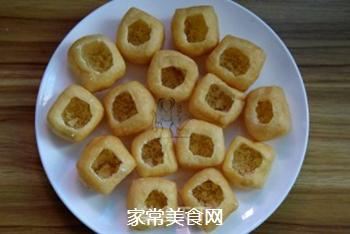 油豆腐酿的做法步骤:6