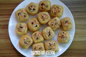 油豆腐酿的做法步骤:7