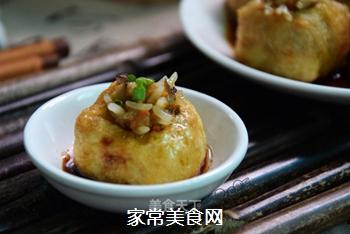 油豆腐酿的做法
