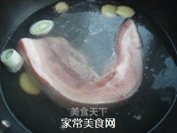 山寨回锅肉的做法步骤:1