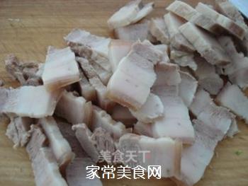山寨回锅肉的做法步骤:3