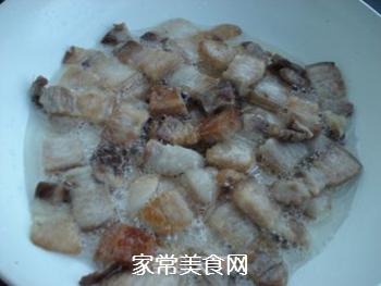 山寨回锅肉的做法步骤:4