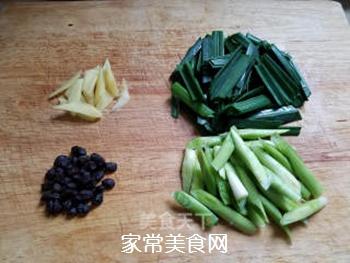 蒜苗回锅肉的做法步骤:3
