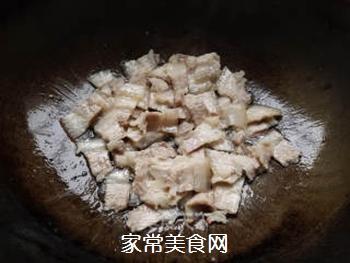 蒜苗回锅肉的做法步骤:4