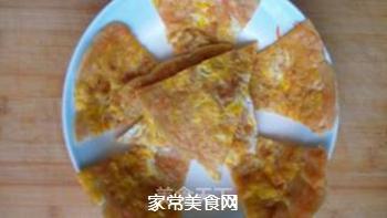 胡萝卜鸡蛋饼的做法步骤:8