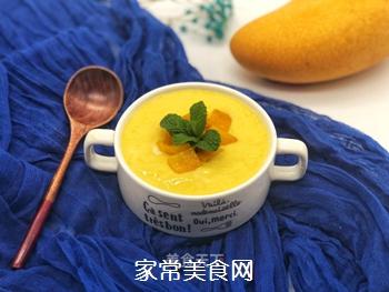 芒果酸奶奶昔的做法