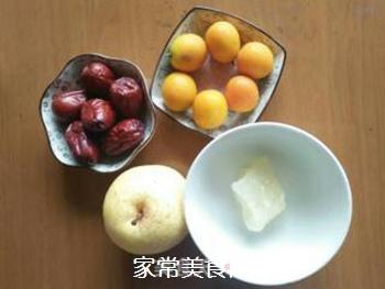 梨子金桔红枣茶的做法步骤:1