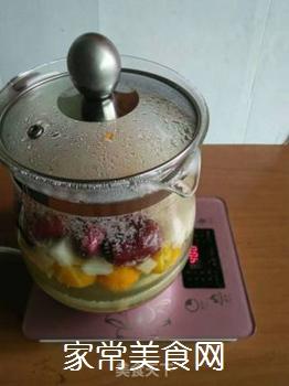 梨子金桔红枣茶的做法步骤:9