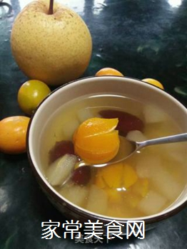 梨子金桔红枣茶的做法步骤:10