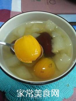 梨子金桔红枣茶的做法步骤:12