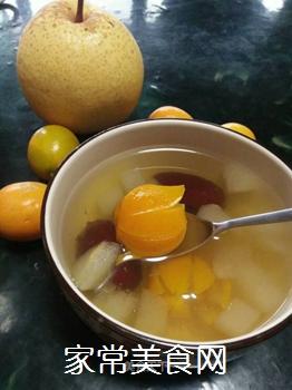 梨子金桔红枣茶的做法