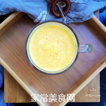 南瓜牛奶的做法步骤:7
