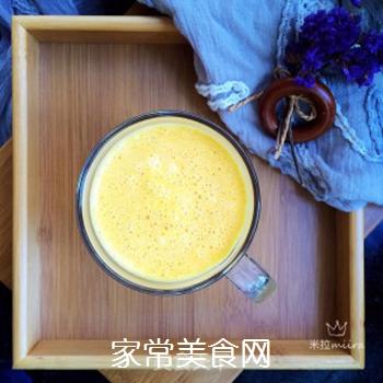 南瓜牛奶的做法步骤:8