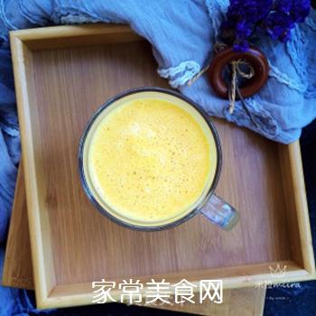 南瓜牛奶的做法步骤:9
