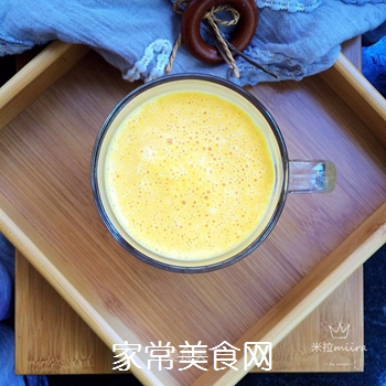 南瓜牛奶的做法