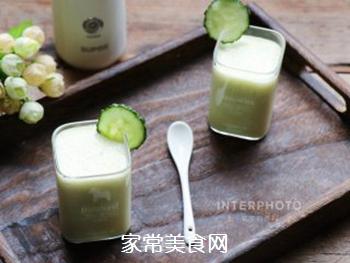苹果黄瓜酸奶汁的做法步骤:10