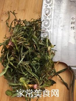 苦菜豆浆的做法步骤:5