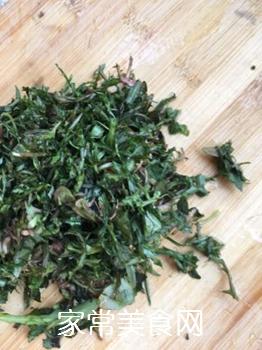 苦菜豆浆的做法步骤:6