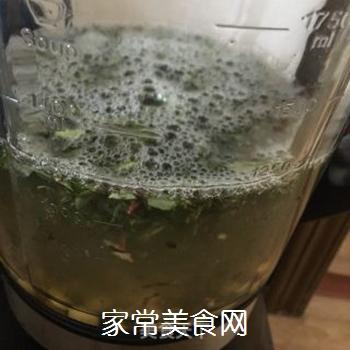 苦菜豆浆的做法步骤:7