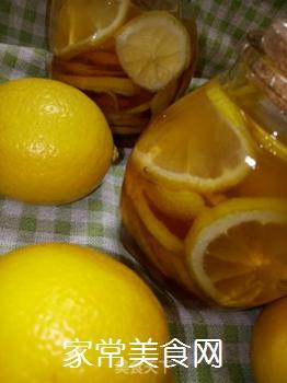 蜂蜜柠檬的做法步骤:7