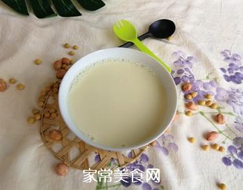 花生苹果豆浆的做法