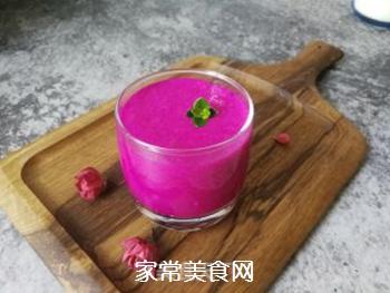 火龙果风味乳的做法步骤:8