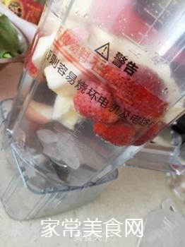 草莓苹果汁的做法步骤:2