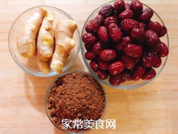 红糖姜枣膏的做法步骤:1