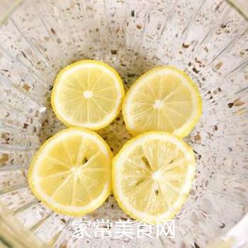 雪碧柠檬水的做法步骤:4