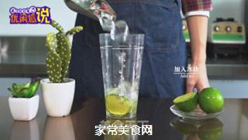 火龙果气泡水的做法步骤:5