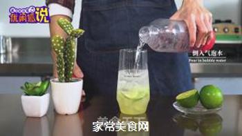 火龙果气泡水的做法步骤:8