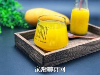 菠萝芒果汁的做法步骤:7