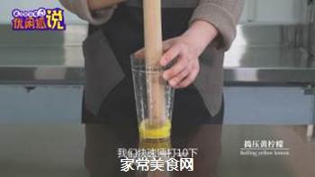 奶茶店水果茶技术配方分享之港式柠檬茶的做法步骤:2
