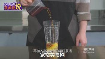 奶茶店水果茶技术配方分享之港式柠檬茶的做法步骤:5