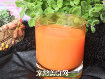 纯胡萝卜汁的做法步骤:4