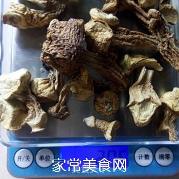芦笋姬松茸液的做法步骤:3