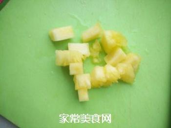 菠萝黄瓜汁的做法步骤:2