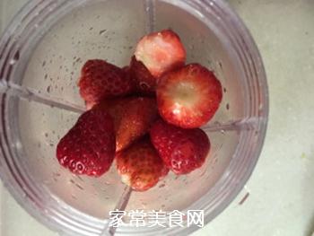 草莓奶昔的做法步骤:3