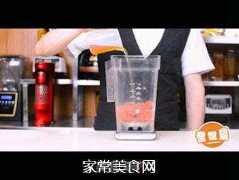 西瓜绿茶教程的做法步骤:3