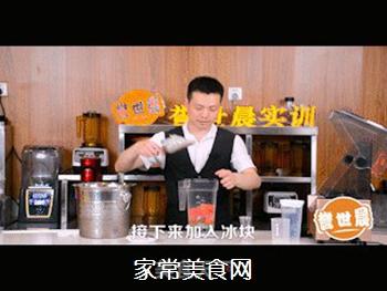 西瓜绿茶教程的做法步骤:4