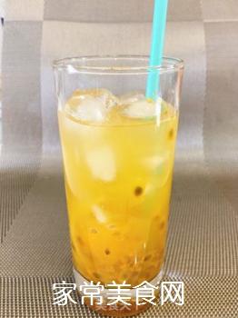 百香果柠檬蜂蜜冰饮的做法步骤:5