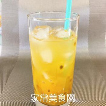 百香果柠檬蜂蜜冰饮的做法