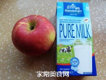 苹果奶昔的做法步骤:1