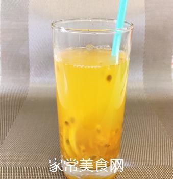 百香果柠檬水的做法