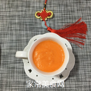 胡萝卜橙子汁的做法步骤:7