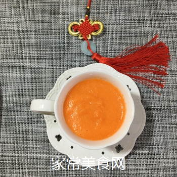 胡萝卜橙子汁的做法